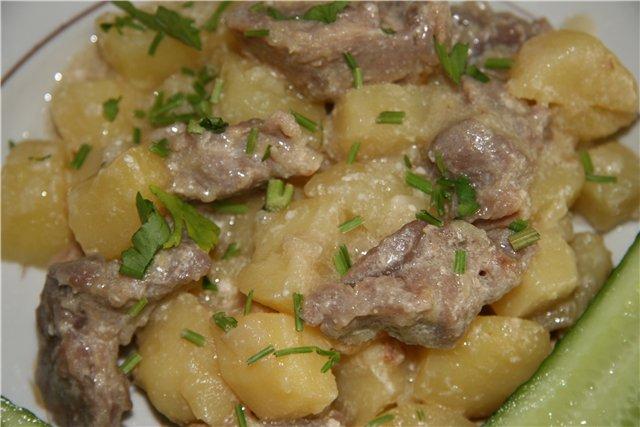 Что приготовить из говядины с картофелем рецепты